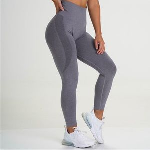 NVGTN Navigation Grey Contour Seamless leggings